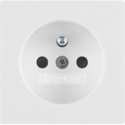 Płytka do gniazda z uziemieniem Berker Q1