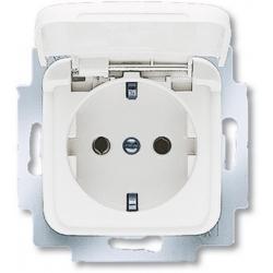 Gniazdo do łazienki, gniazdo schuko bryzgoszczelne ABB