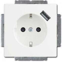 Gniazdo Schuko z portem USB