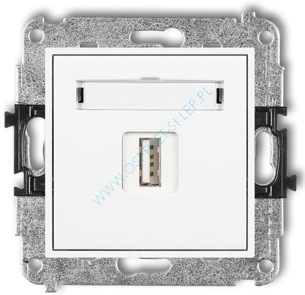 Gniazdo z USB MINI Karlik